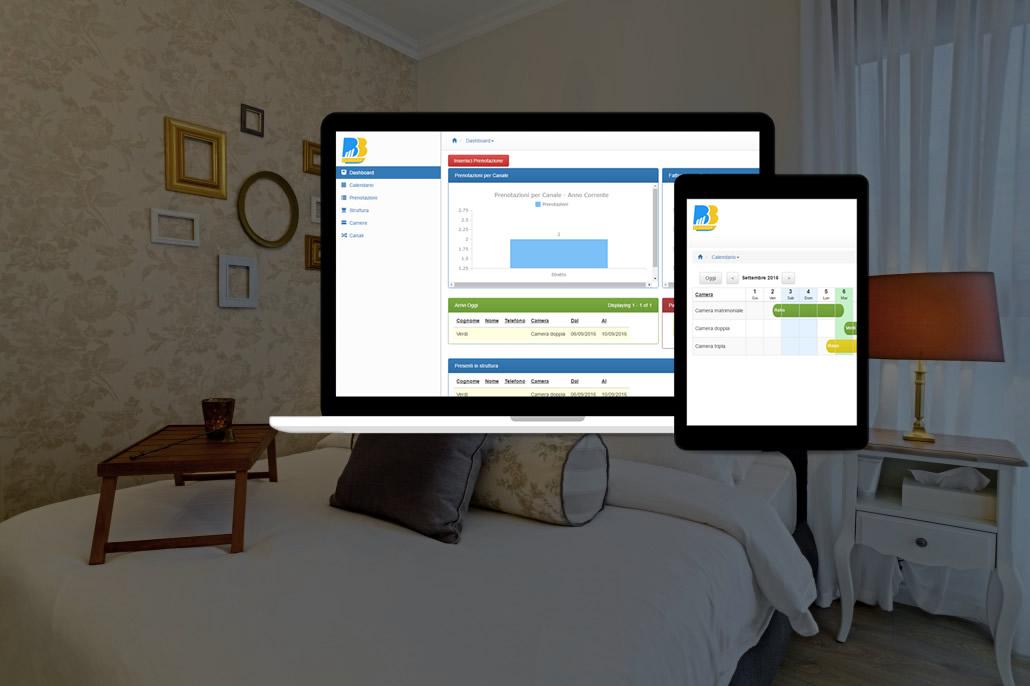 Calendario Prenotazioni Hotel Excel.Gestionale Per Piccole Strutture Ricettive Calendario